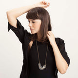 Edge- Transparent Necklace