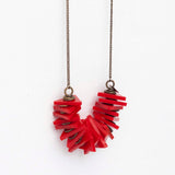 Edge- Red Necklace