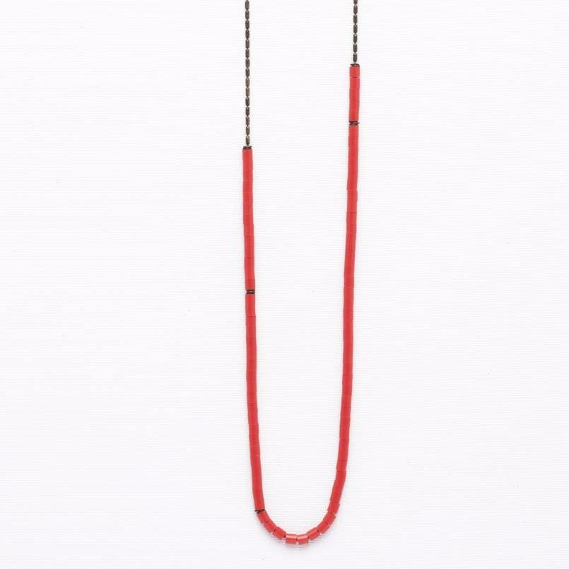 Jul- Red Necklace