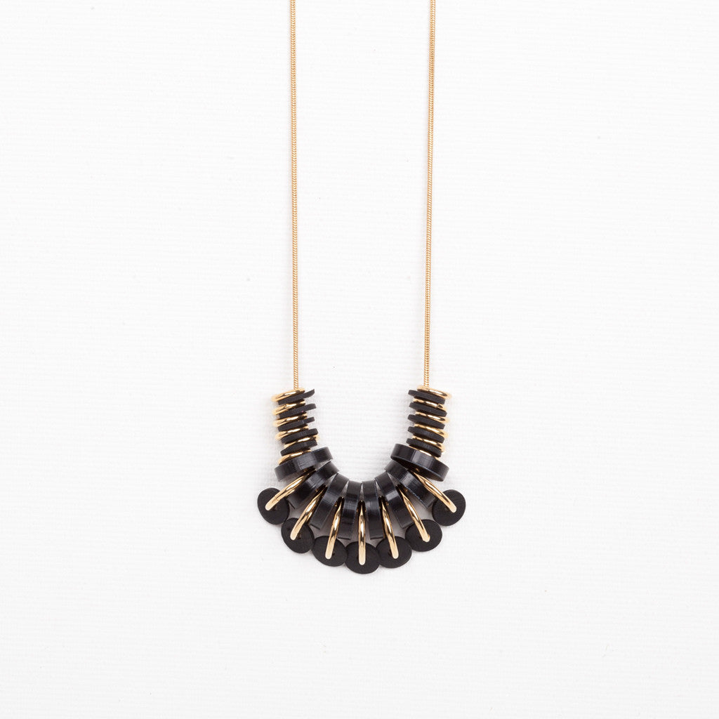 Buza- Black Necklace