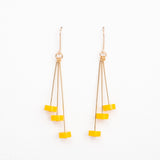 Dot- Yellow Earrings