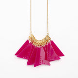 Dotto- Pink Necklace
