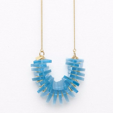 Edge- Turquoise Necklace