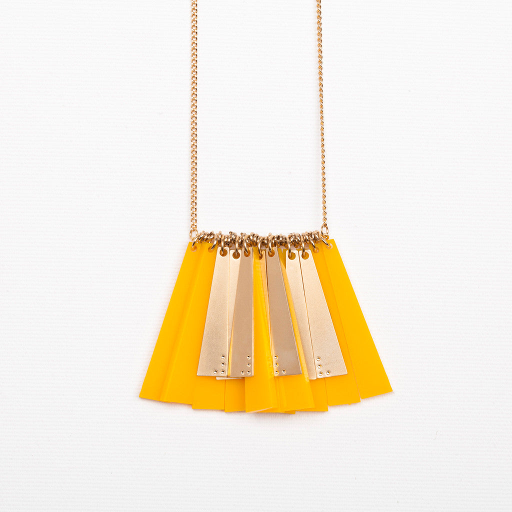 Popo- Yellow Necklace