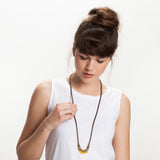 Shis- Yellow Necklace