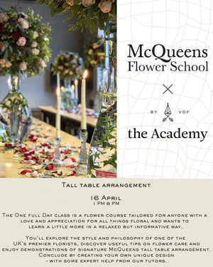 MQ Tall table arrangement