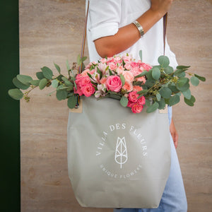VDF bouquet in bag