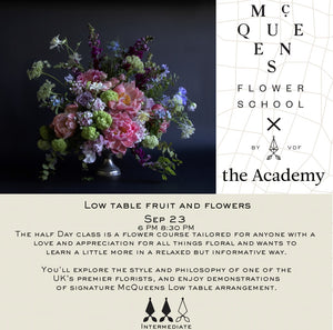 Low Table Fruits&Flowers
