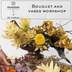 Pearsons Bouquet and Vase Workshop