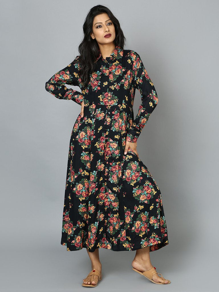 Floral Dress from The Loom