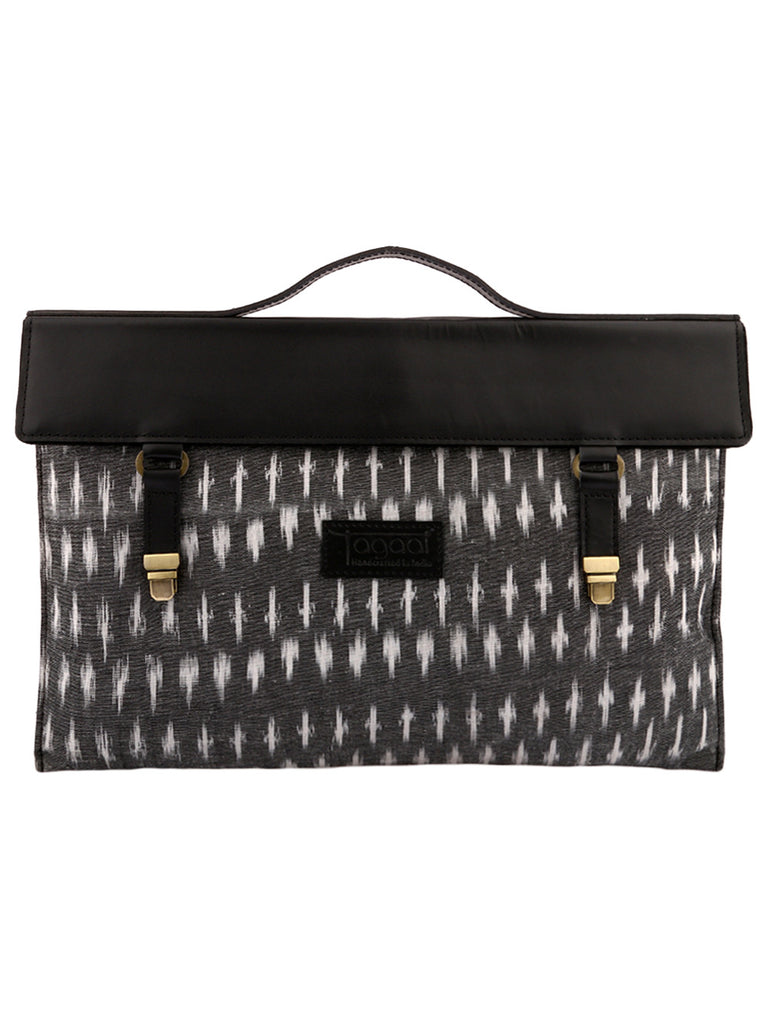 Black Grey Ikat Laptop/Mac Sleeve