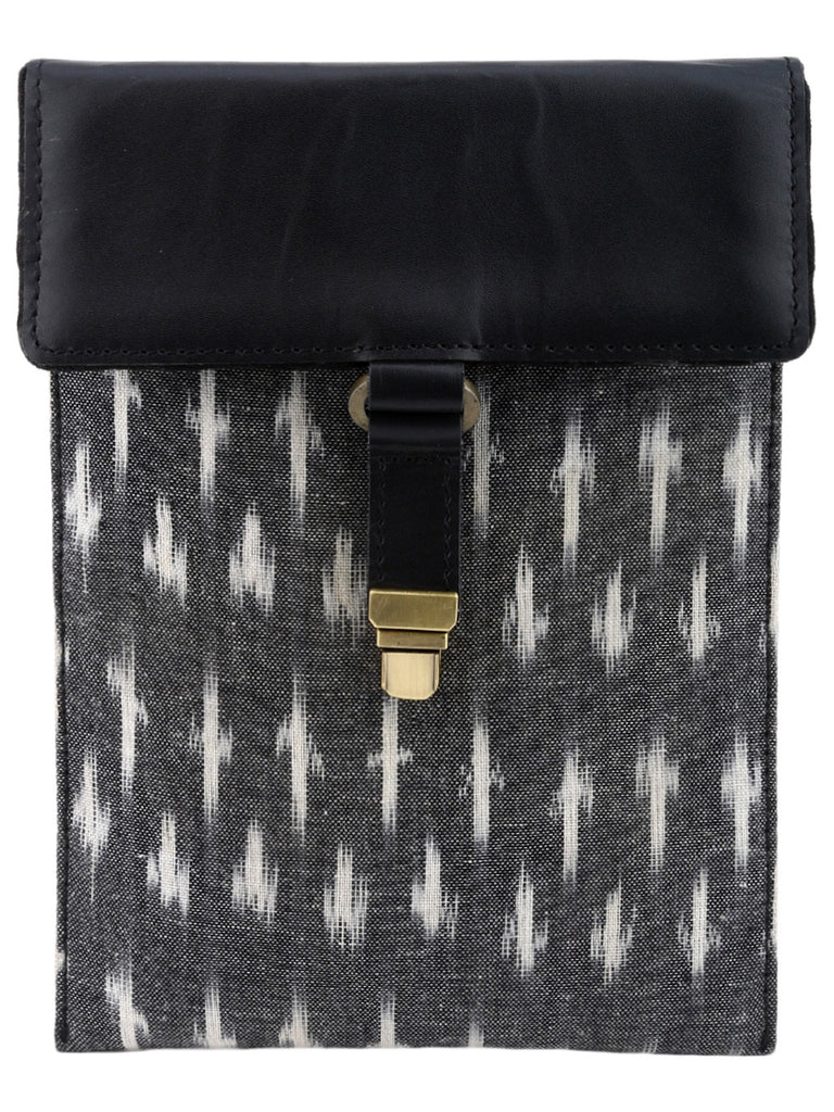 Black Ikat iPad Mini/Kindle Sleeve