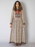 Off White Kora Peshbaan Cotton Dress