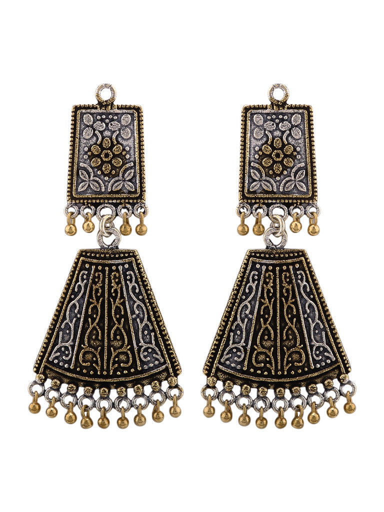 Majestic Dual Plated Earrings