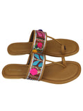 Multicolor Handcrafted Leather Flats