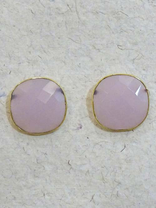 Pink Cut Stone Large Top