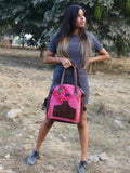 Pink Kilim Tote Arch