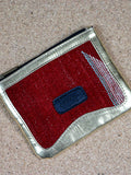 Red Kilim Coin Pouch