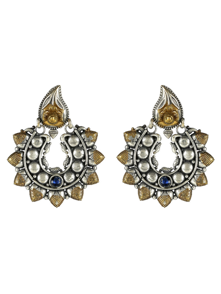 Temple Dual Plated Earrings