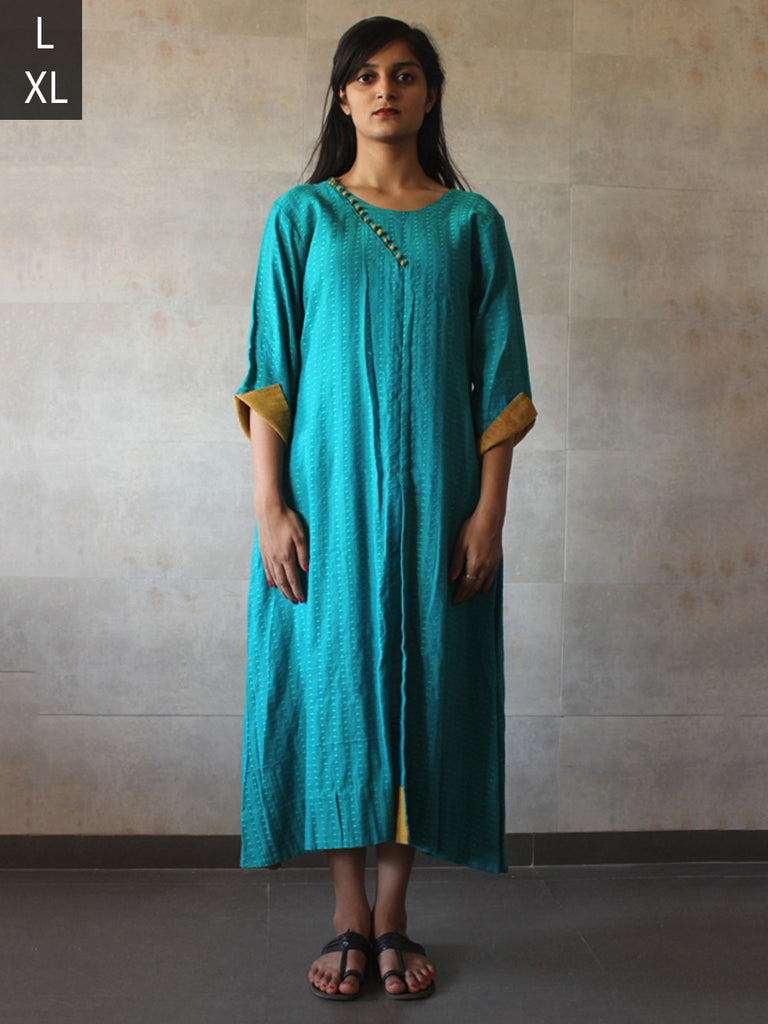 Turquoise Cotton Tunic