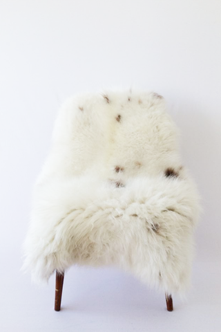 Nordic Wolf Large Sheepskin Throw NW9 Sheepskin - NordicWolf
