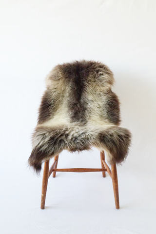 Nordic Wolf Large Sheepskin Throw NW5 Sheepskin - NordicWolf