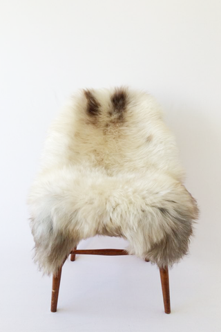 Nordic Wolf Large Sheepskin Throw NW42 Sheepskin - NordicWolf
