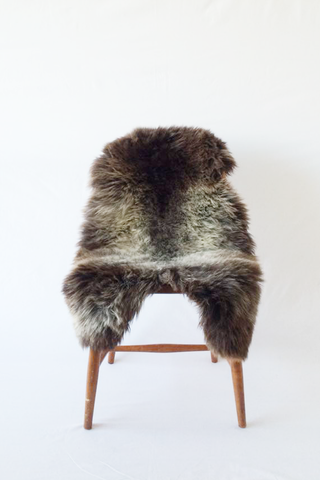 Nordic Wolf Large Sheepskin Throw NW18 Sheepskin - NordicWolf