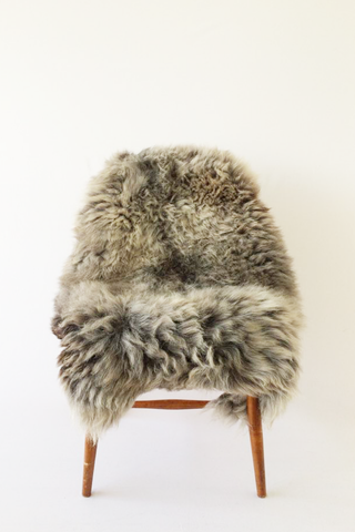 Nordic Wolf Large Sheepskin Throw NW16 Sheepskin - NordicWolf