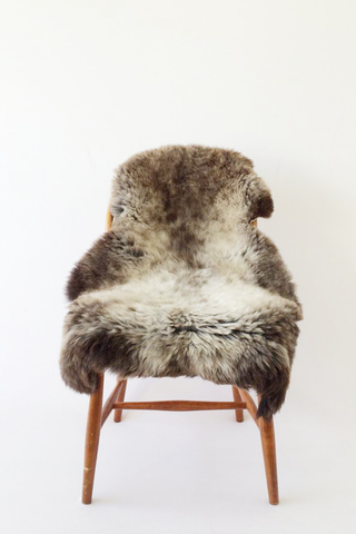 Nordic Wolf Large Sheepskin Throw NW25 Sheepskin - NordicWolf