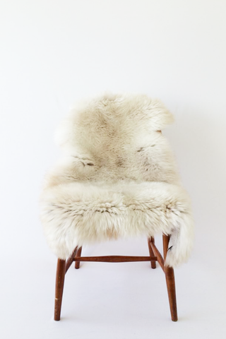 Nordic Wolf Large Sheepskin Throw NW17 Sheepskin - NordicWolf