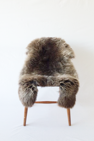 Nordic Wolf Large Sheepskin Throw NW3 Sheepskin - NordicWolf