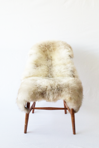 Nordic Wolf Large Sheepskin Throw NW35 Sheepskin - NordicWolf