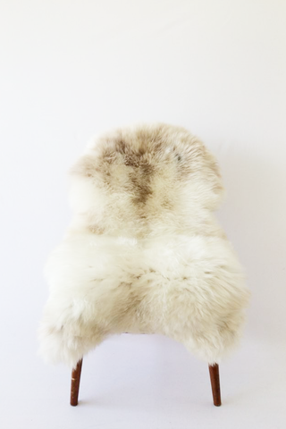 Nordic Wolf Large Sheepskin Throw NW36 Sheepskin - NordicWolf