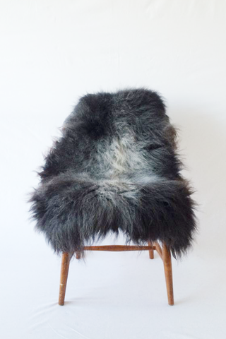 Nordic Wolf Large Sheepskin Throw NW15 Sheepskin - NordicWolf