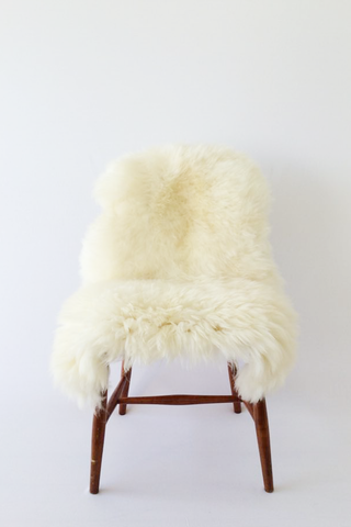 Nordic Wolf Large Sheepskin Throw NW43 Sheepskin - NordicWolf