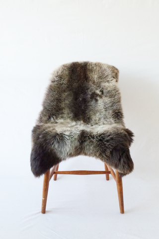 Nordic Wolf Large Sheepskin Throw NW37 Sheepskin - NordicWolf