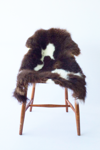Nordic Wolf Large Sheepskin Throw NW26 Sheepskin - NordicWolf