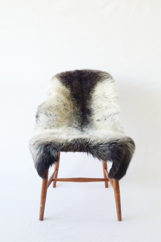 Nordic Wolf Large Sheepskin Throw NW14 Sheepskin - NordicWolf