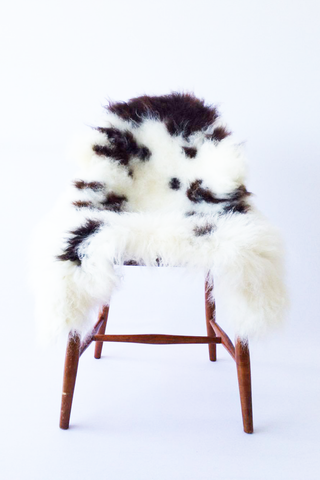 Nordic Wolf Large Sheepskin Throw NW41 Sheepskin - NordicWolf