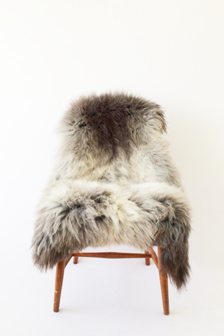 Nordic Wolf Large Sheepskin Throw NW19 Sheepskin - NordicWolf