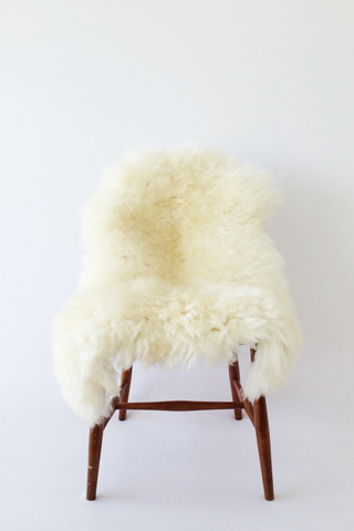 Nordic Wolf Large Sheepskin Throw NW34 Sheepskin - NordicWolf