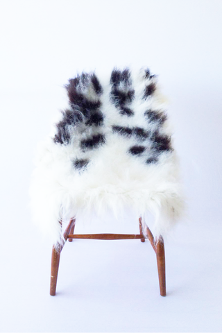 Nordic Wolf Large Sheepskin Throw NW38 Sheepskin - NordicWolf