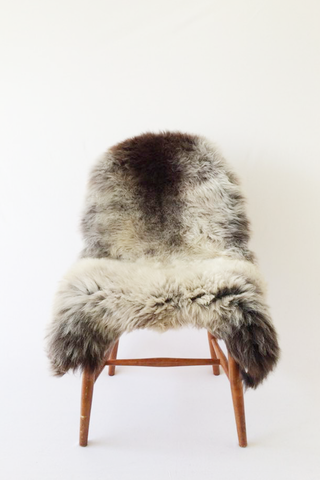Nordic Wolf Large Sheepskin Throw NW27 Sheepskin - NordicWolf