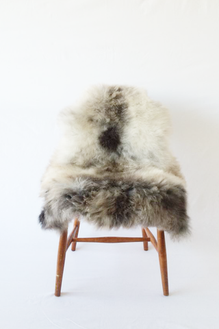 Nordic Wolf Large Sheepskin Throw NW11 Sheepskin - NordicWolf
