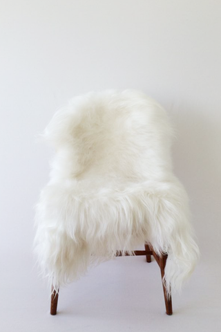 Nordic Wolf Large Sheepskin Throw NW10 Sheepskin - NordicWolf
