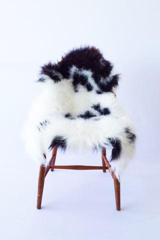 Nordic Wolf Large Sheepskin Throw NW22 Sheepskin - NordicWolf