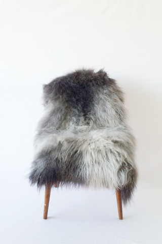 Nordic Wolf Large Sheepskin Throw NW31 Sheepskin - NordicWolf