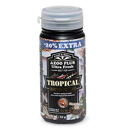 Azoo Plus Ultra Fresh Tropical Excellent Bits 330ml-130Gms