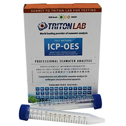ICP-OES Water Test- Full Panel Test Packet with Return Shipping